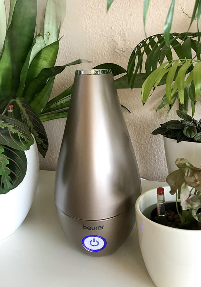 Luftbefeuchter für Gesundheit und Wohlbefinden