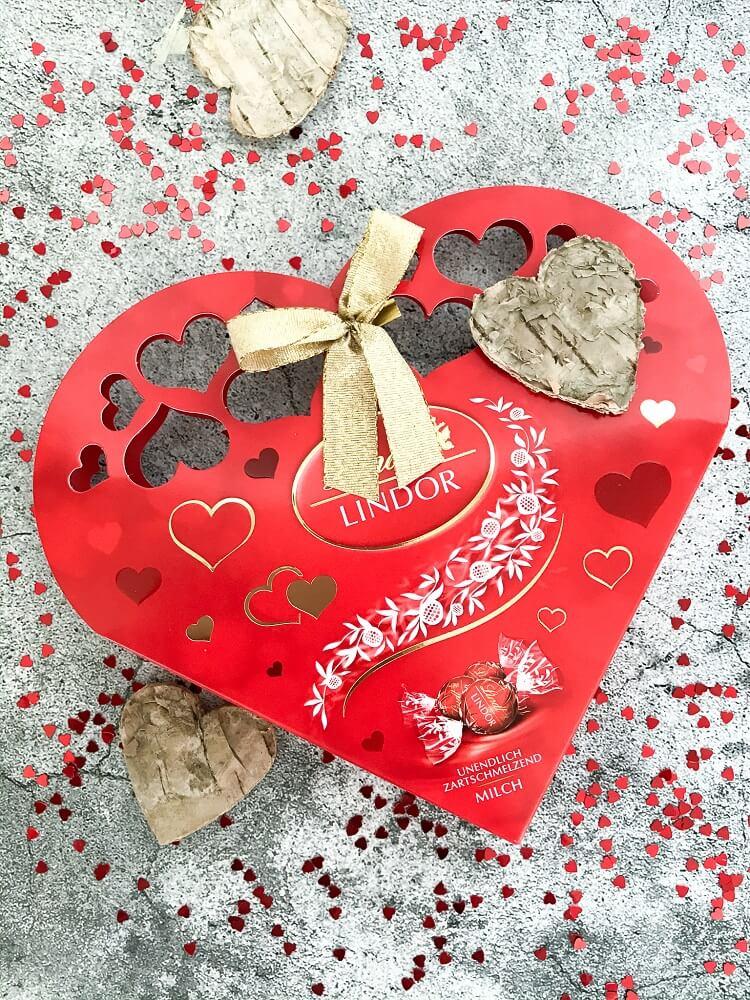 Lindt Herz Lindorkugeln Valentinstag