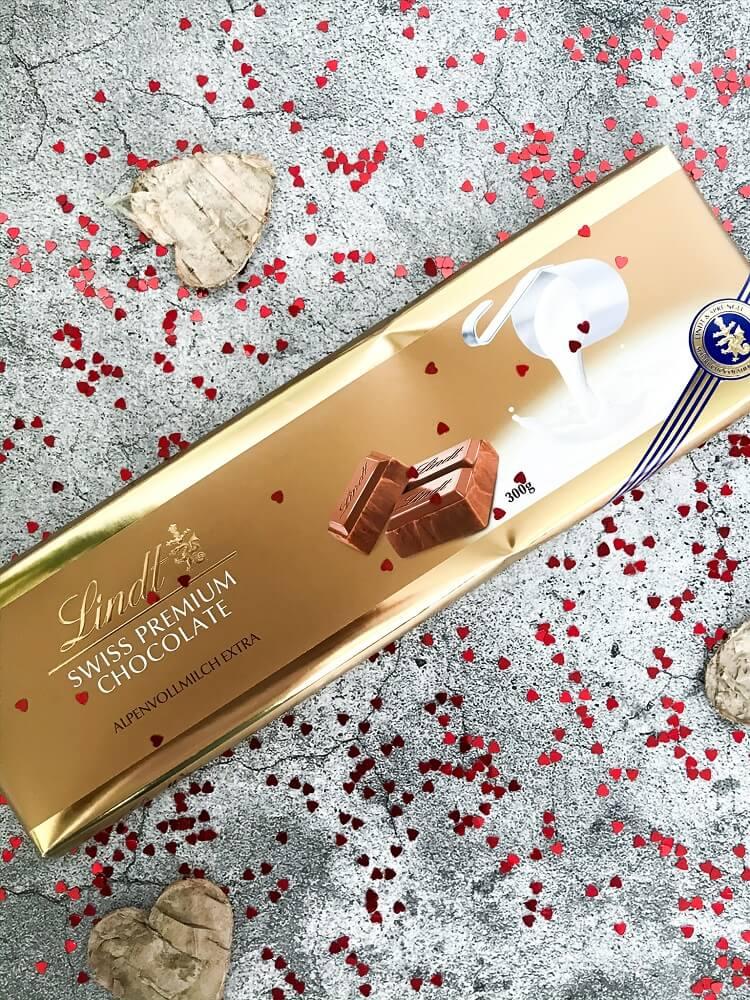 Schokolade Alpenmilch Extra Tafel Lindt