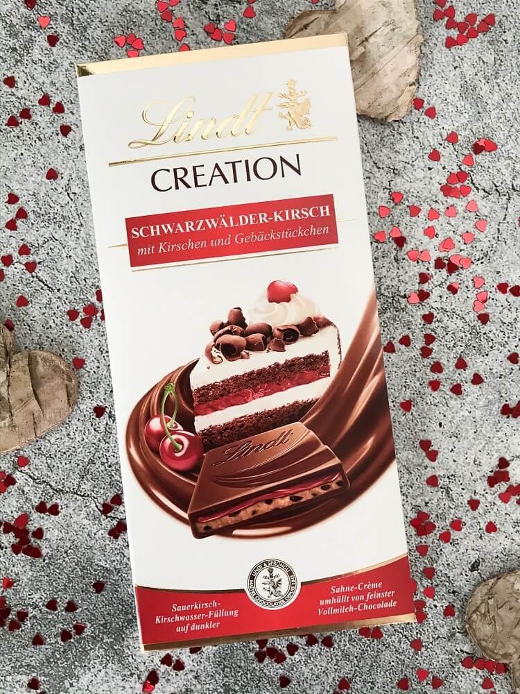 Schwarzwälder Kirsch Schokolade Lindt