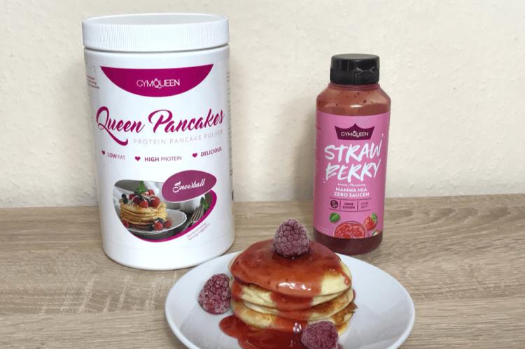 Pancake und Strawberry Soße von Gymqueen