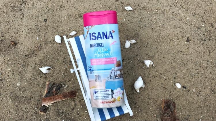 """ISANA Sommer-Edition """"kleine Auszeit"""" als Duschgel im Test."""